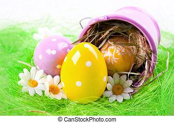 húsvét, bucket!