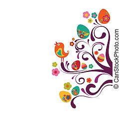 húsvét, elágazik