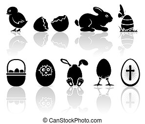 húsvét, ikonok