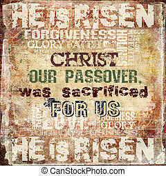 húsvét, vallásos, háttér