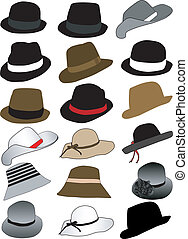 hüte, sammlung