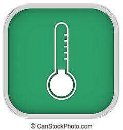 hőmérséklet, aláír, alacsony