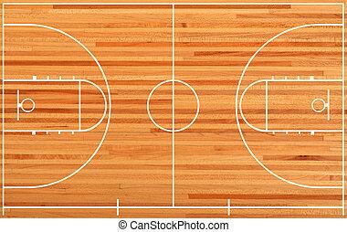 hřiště na košíkovou