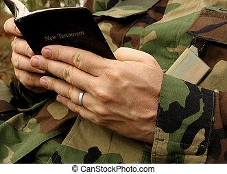 hűséges, katona