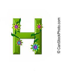 h, alfabeto, wonderland