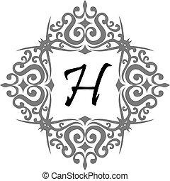 h, modernos, letra