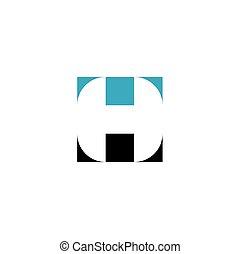 h, symbol, logotype, zeichen, brief, logo, element, ikone