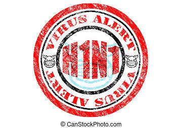 h1n1, fogalom, vírus, légiriadó
