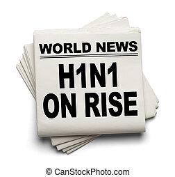 h1n1, rijzen