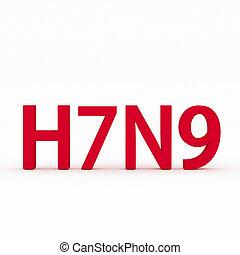 h7n9, virus, grippe, grippe, ou