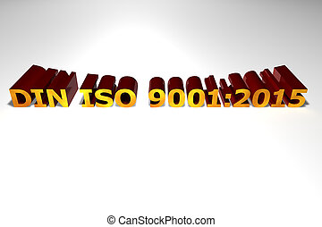 hałas, iso, 9001:2015, -, symbol