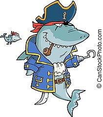 haai, zeerover