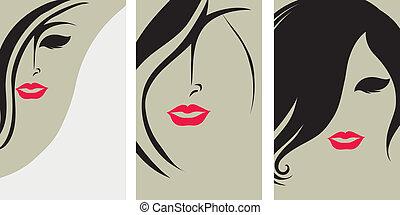 haar, achtergronden, vormgeving