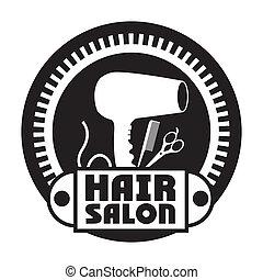 haar salon, design