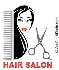 haar salon, ikone