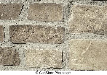 habarcs, háttér, kő