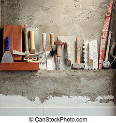 habarcs, szerkesztés, eszközök, cement, kőműves