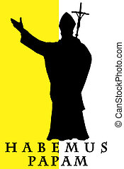 habemus, papam, ilustración