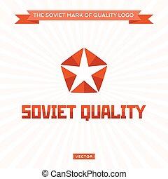haben hauptrolle zeichen, abbildung, vektor, qualität, pfeil abbild, logo, sowjetisch