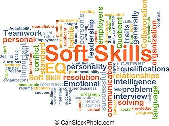 habilidades, conceito, macio, fundo