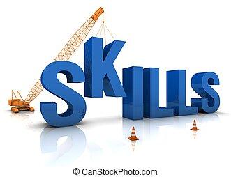 habilidades, desenvolvendo