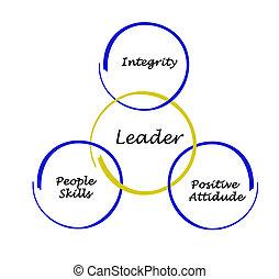 habilidades, líder