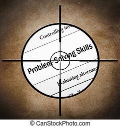 habilidades, resolver problema