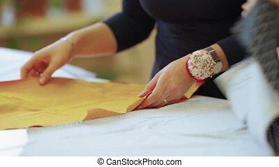 habillement, fabrication, préparation, tissu