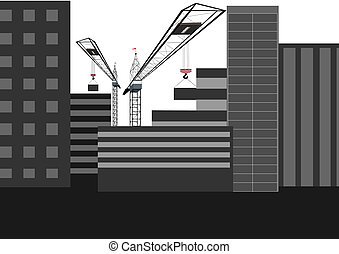 habitação, construção
