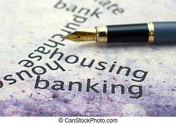 habitação, e, operação bancária, conceito