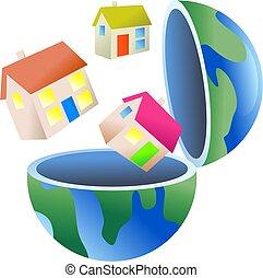 habitação, globo