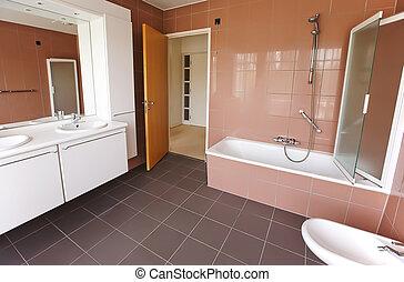 habitación de baño