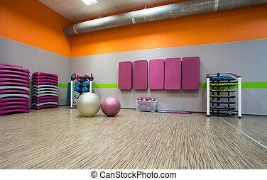 habitación, ejercicio