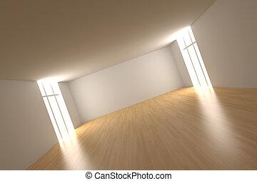 habitación vacía