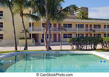 habitaciónes de hoteles, piscina, natación