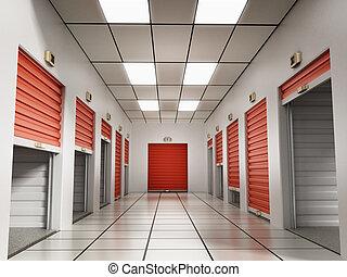 habitaciones de almacenamiento