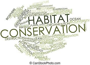 habitat, conservação