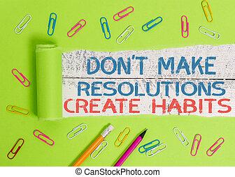 habits., foto, routine, concettuale, fare, affari, ogni...