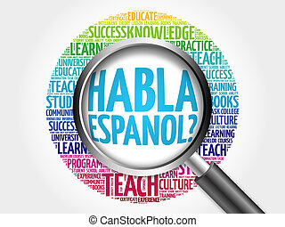 habla, espanol?, (speak, spanish?)