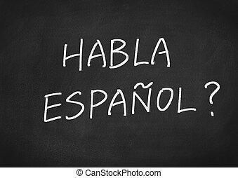 hablar, habla, usted, espanol?, spanish?