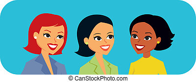 hablar, mujeres, gráficos