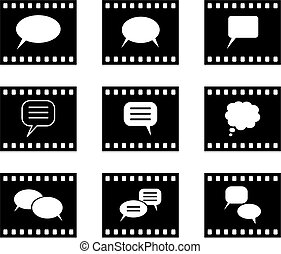 hablar, película