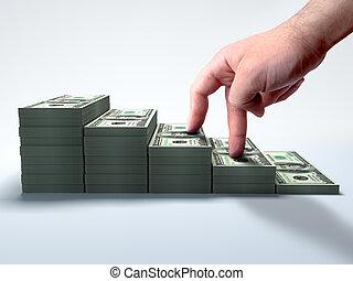 hacer dinero