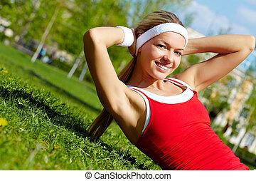 hacer, ejercicio