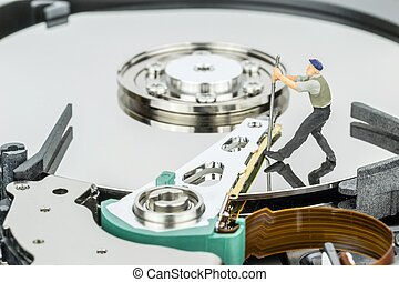hacher, informatique