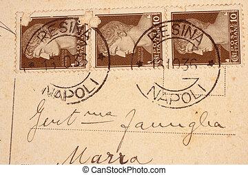 hacia, italia, 1901