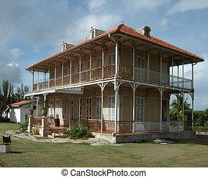 hacienda, 在中, guadeloupe