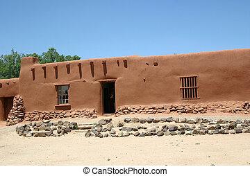Hacienda - Centuries old adobe hacienda has survided the...