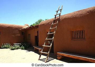 Hacienda - Historic southwestern hacienda in New Mexico