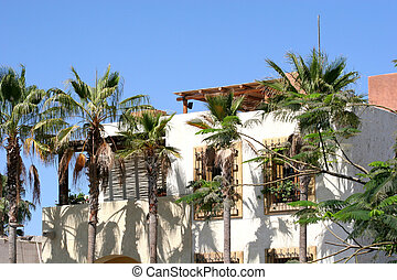 Hacienda - Spanish style house